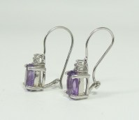 Police Auctions Canada - 925 Silver/Amethyst/Diamond ...