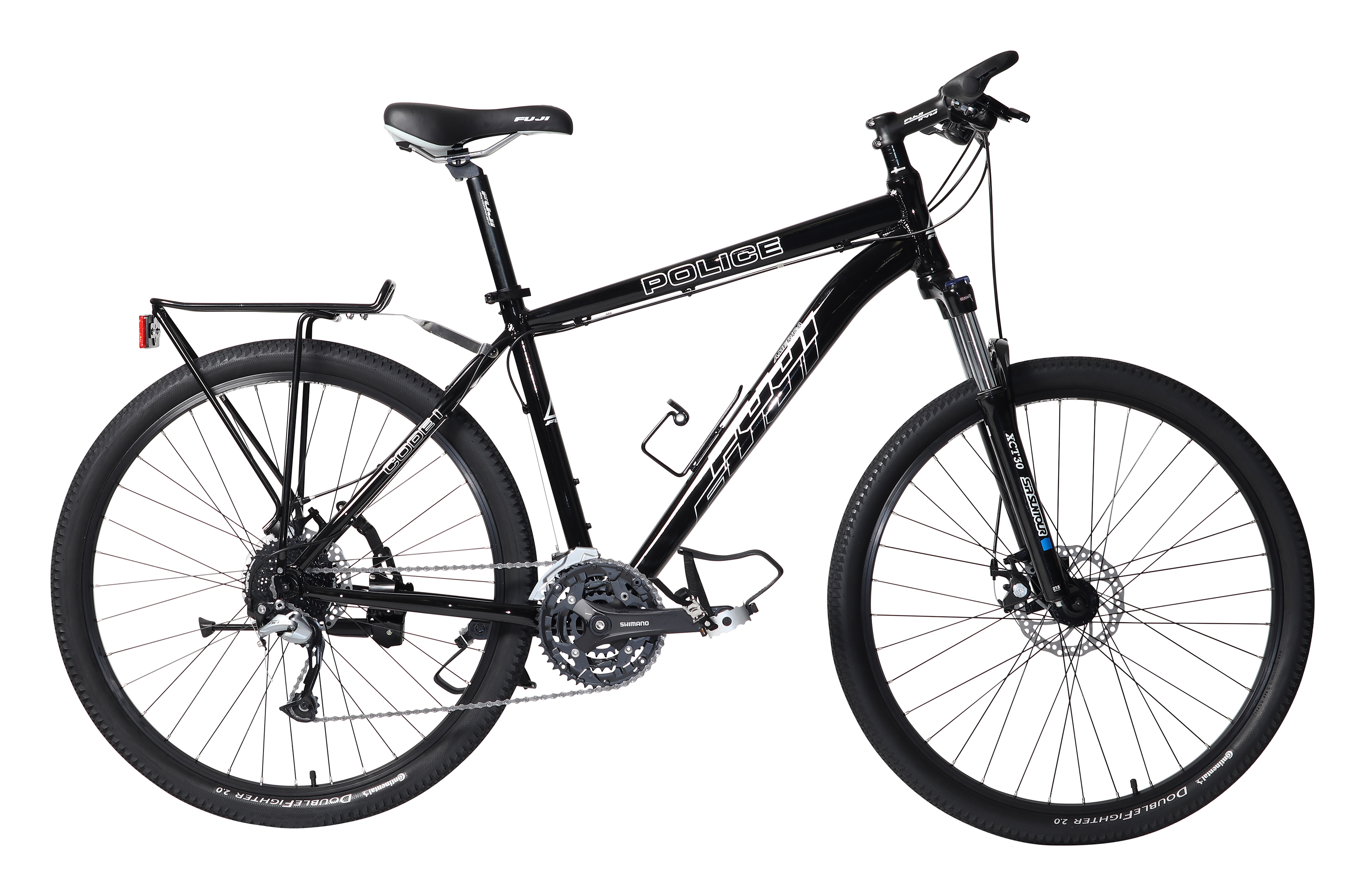 Fuji Code 1 Police Mountain Bike 27 Speed Shimano