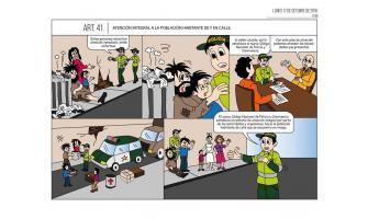 Atención integral a la población habitante de y en calle
