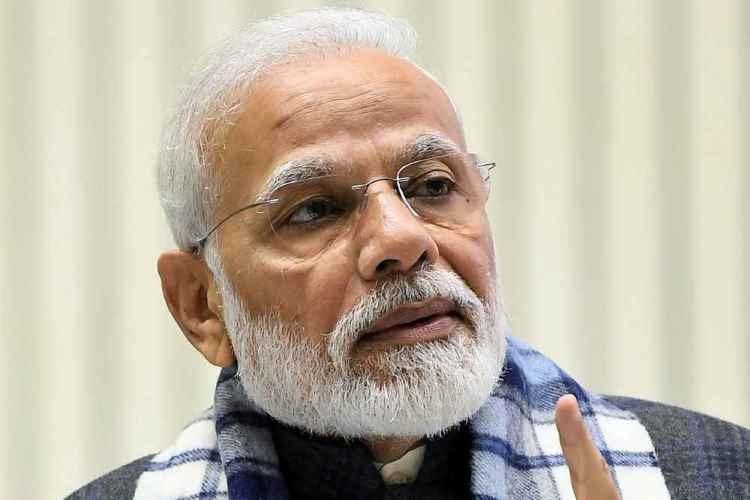 Prime minister Narendra Modi at ASSOCHAM centenary