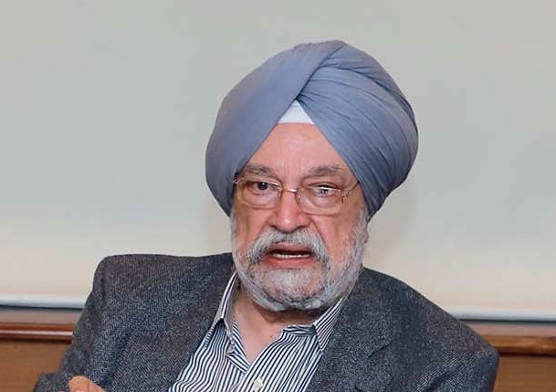 Minister of state for housing, urban affairs and civil aviation Hardeep Singh Puri.