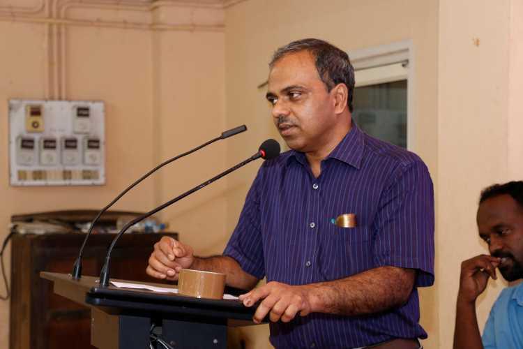 Kottayam Medical College's Dr Jayakumar