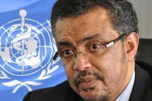 World Health Organization Director-General Tedros Adhanom Ghebreyesus