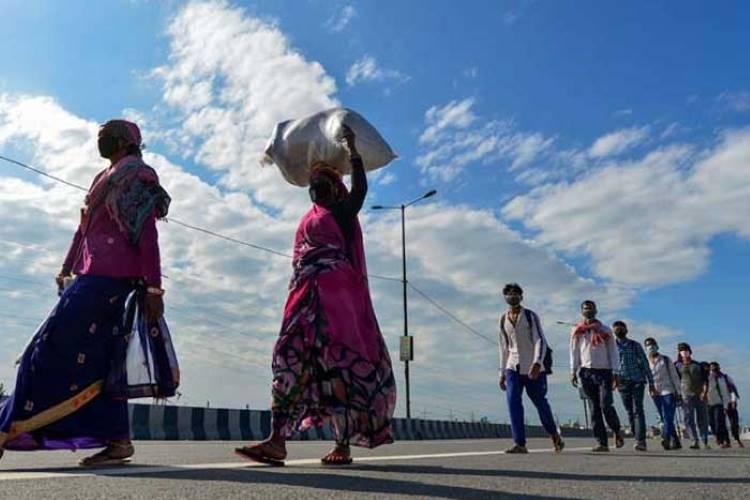 Migrant labour exodus