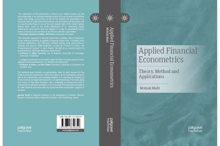 Applied financial econometrics: theory, Methods and Application by Moinak Maiti