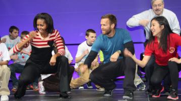 Michelle Obama in Philadelphia for Let's Move initiative