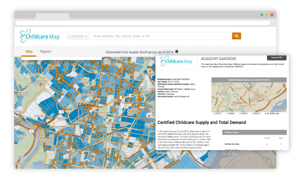 PolicyMap Branded Mapping Tool
