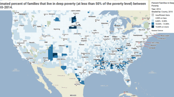 Deep Poverty: Where Do Extremely Limited Income Families Live?