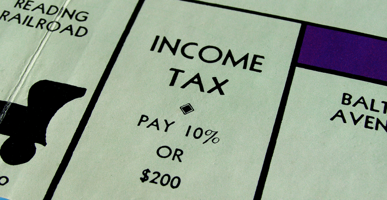 Income Tax Pay 10% or $200