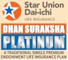 Star Union Dai-chi launches endowment plan – 'Dhan Suraksha Platinum'