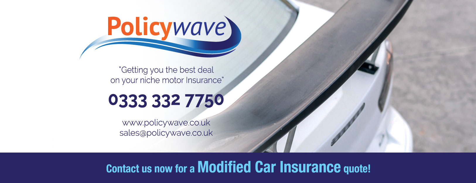 policywave-facebook-modified-car-insurance | Policywave