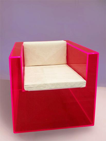 Chairs in plexiglass Poliedrica srl Arredamento e