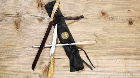 set coltelli artigianali made in italy
