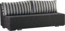Καναπές - κρεβάτι Ειρήνη χωρίς μπράτσα-Καφέ