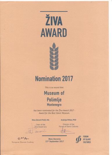 ziva nominacija