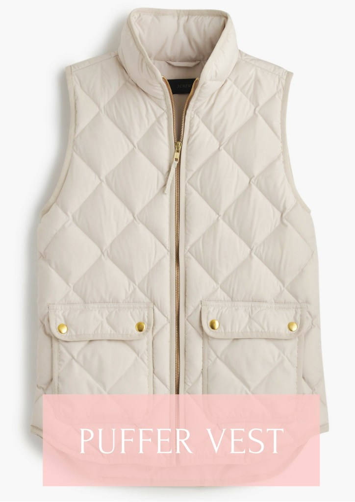 J. Crew Excursion Vest for fall