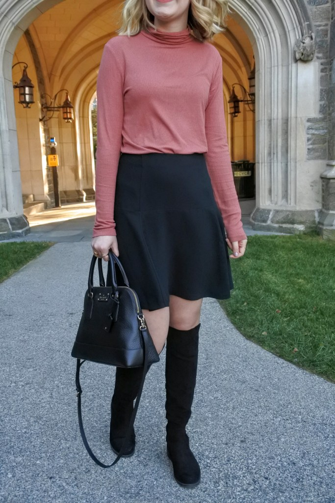 Perfect girly look for fall