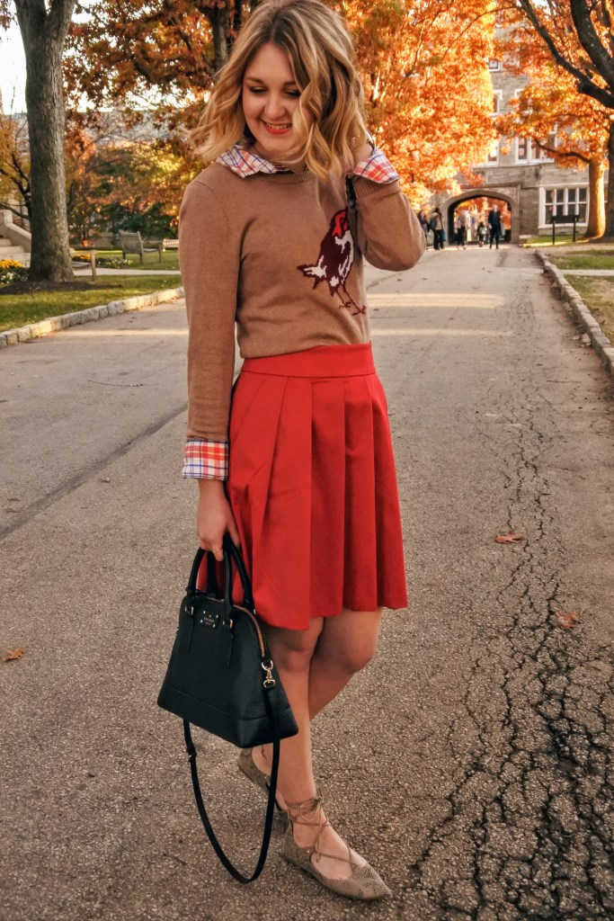 Cute Thanksgiving outfit idea
