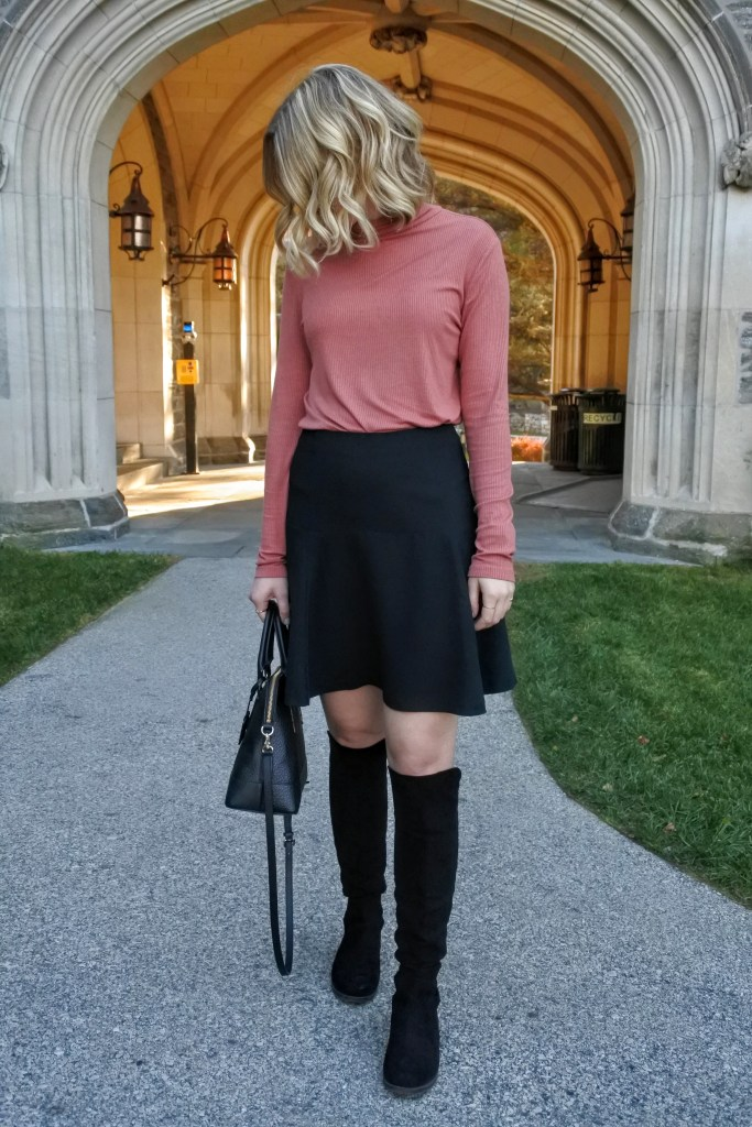 Such a girly fall look!