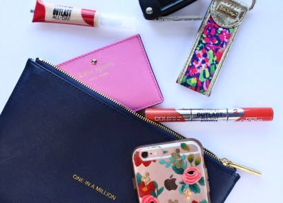 Clutch bag essentials for a night out