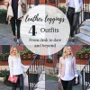 Leather Leggings: 4 Outfits from Desk to Date and Beyond