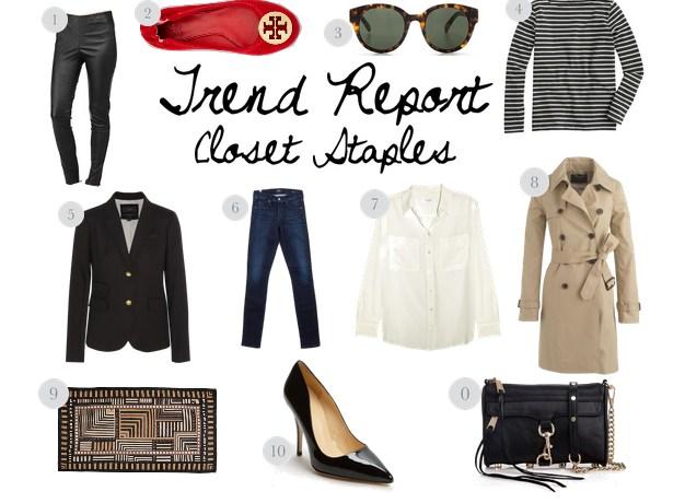 Trend Report // Closet Staples