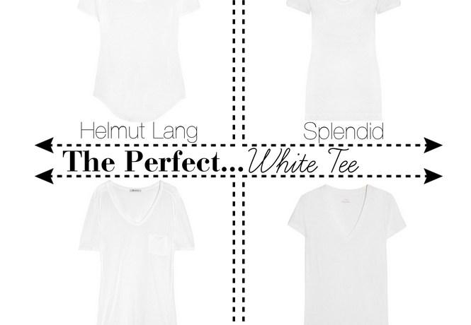 The Perfect…White Tee