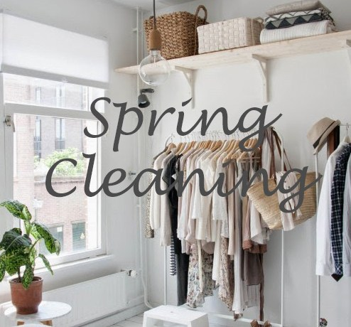 Spring Cleaning & Giving Back