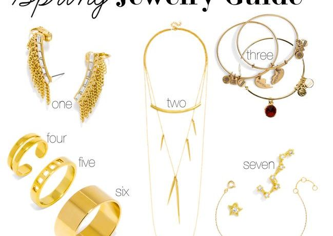 Spring Jewelry Guide