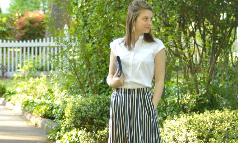 The Perfect Midi Skirt