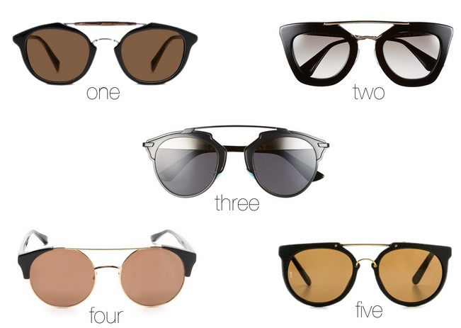 Dior So Real Sunglasses Look-a-likes