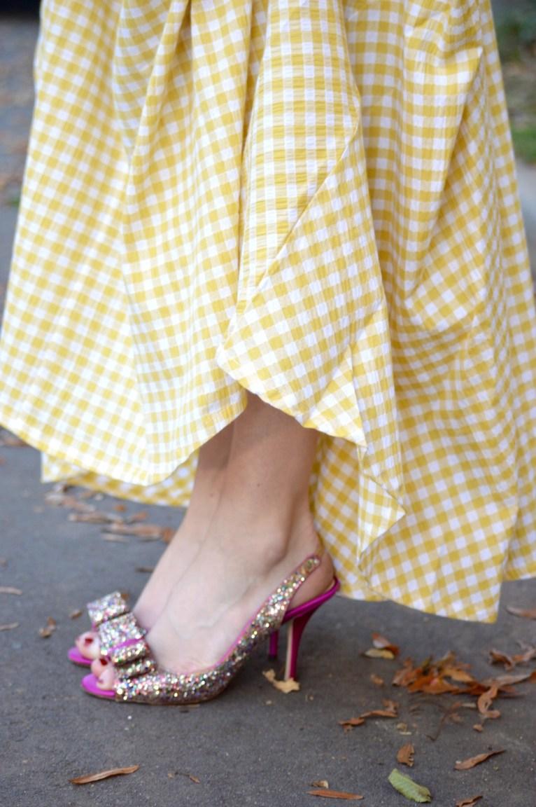 Kate Spade Giltter Shoes