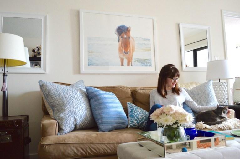tranquil living room decor