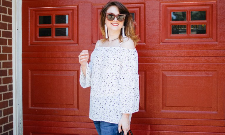 The Perfect Cold Shoulder Top