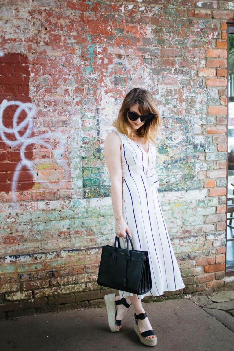 ASTR Cut Out Dress under $100 || www.polishedclosets.com