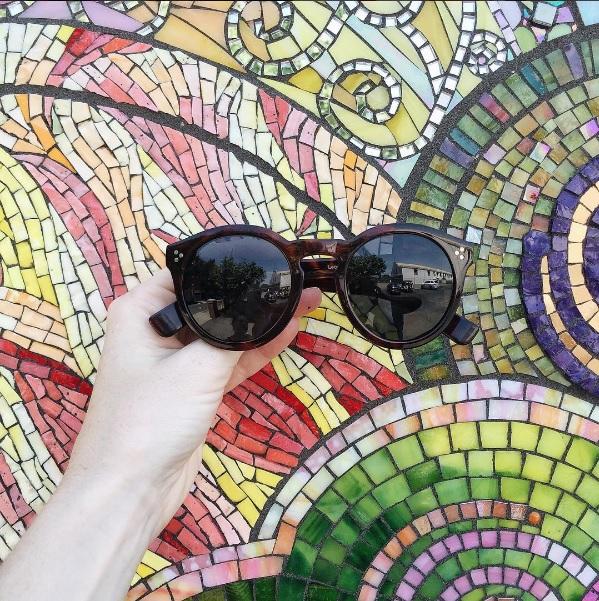 illesteva leonard II sunglasses // www.polishedclosets.com
