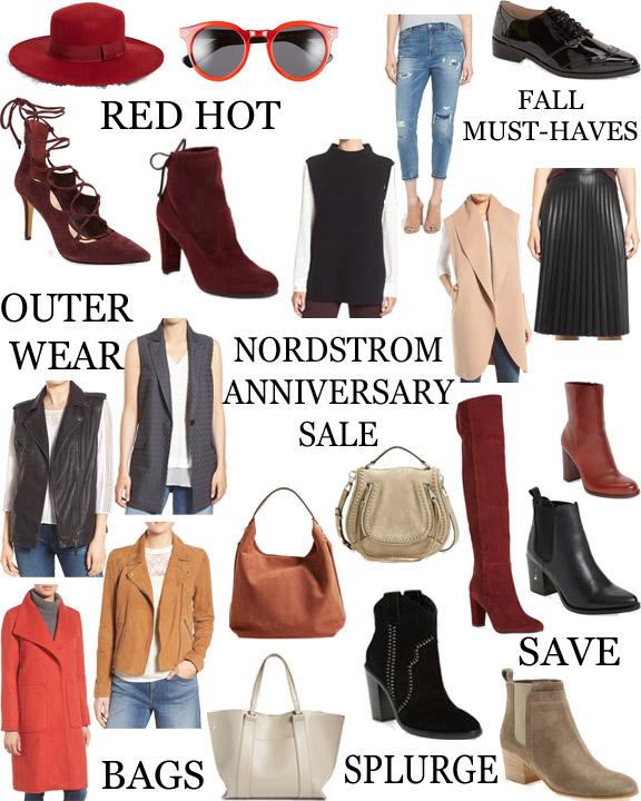 The best of Nordstrom sale 2016 || www.polishedclosets.com