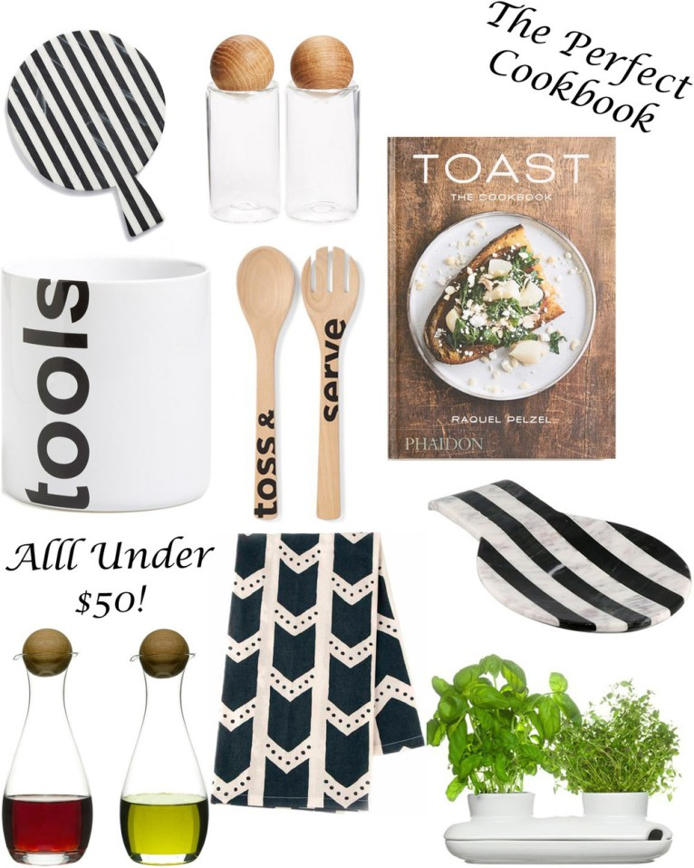Chic Kitchen Accessories Under $50 || polishedclosets.com