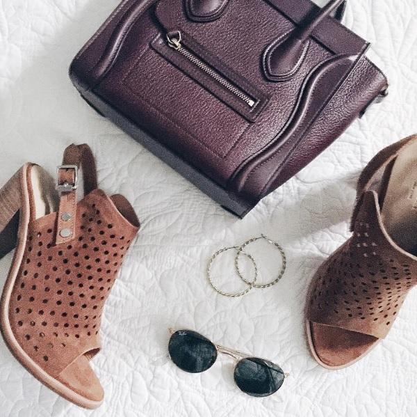rag and bone booties and celine nano purse // www.polishedclosets.com