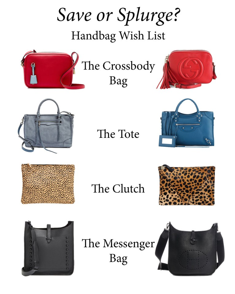 Save or Splurge     Handbag Wish List Edition - Polished Closets 30b160b81