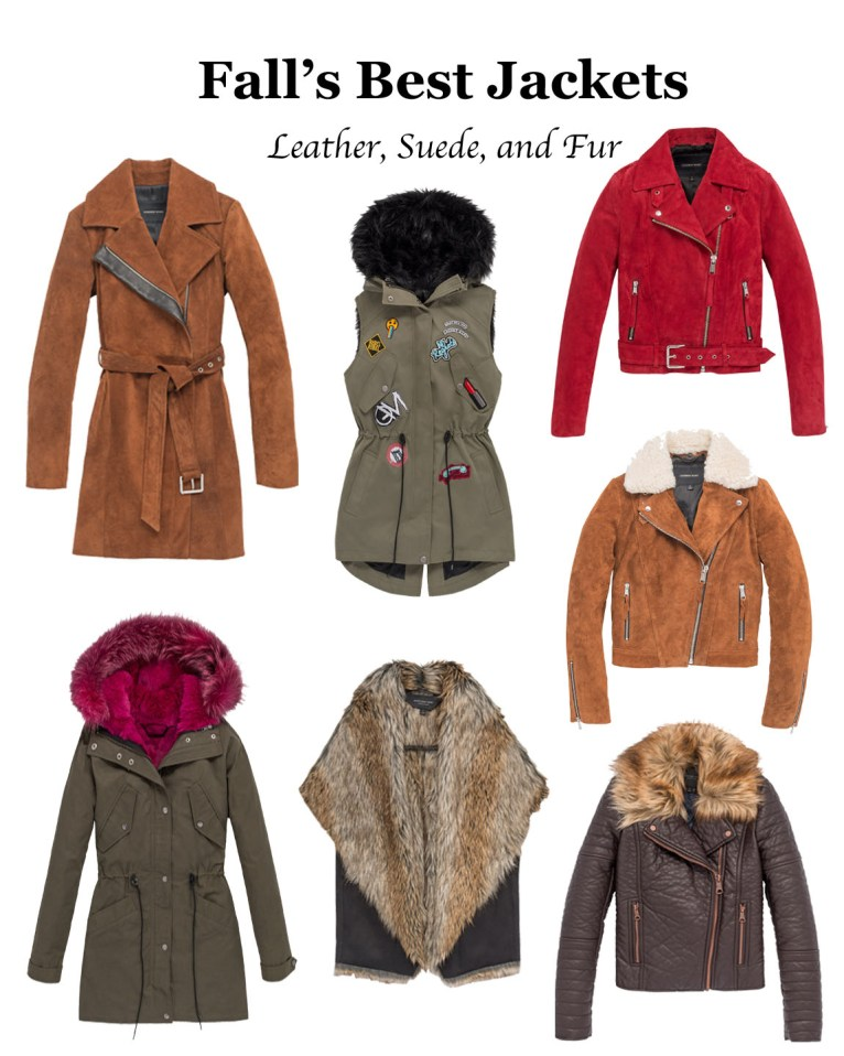 The Best Fall Jackets // www.polishedclosets.com
