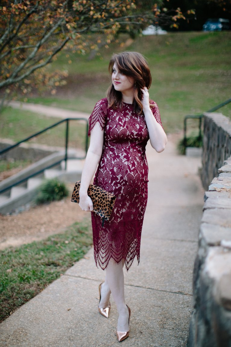 Lace Holiday Dress