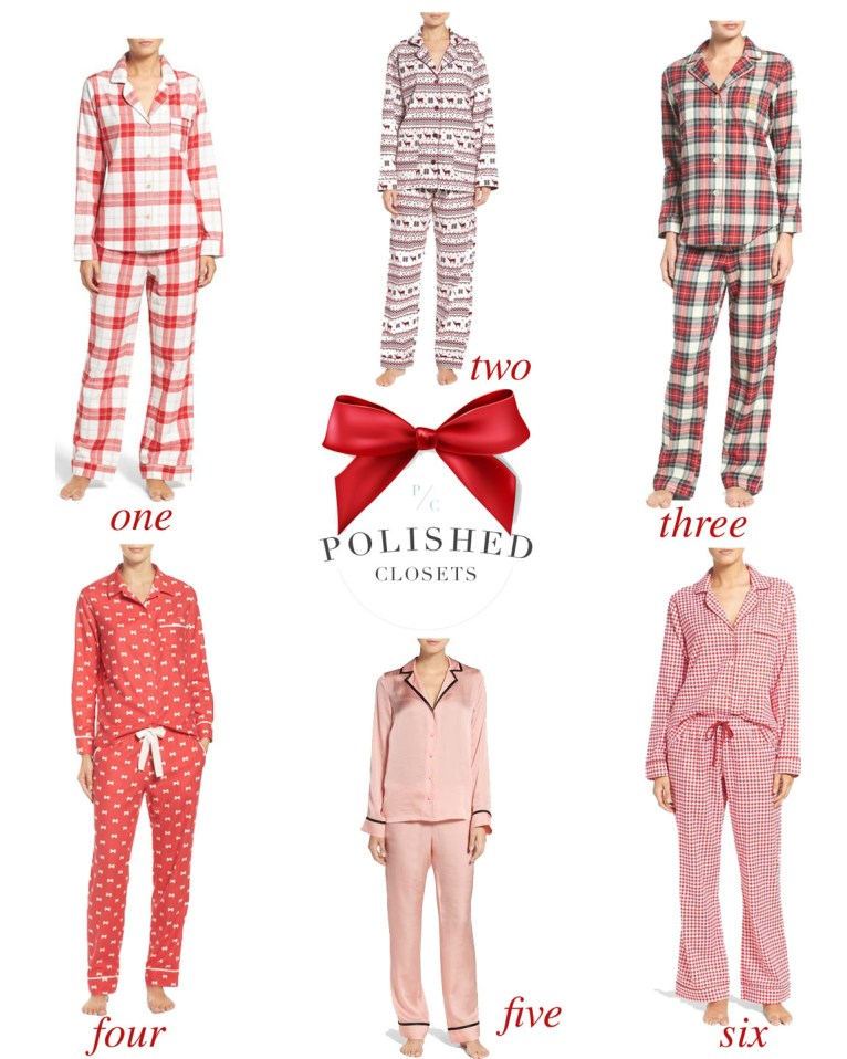 The Best Christmas Pajamas // www.polishedclosets.com