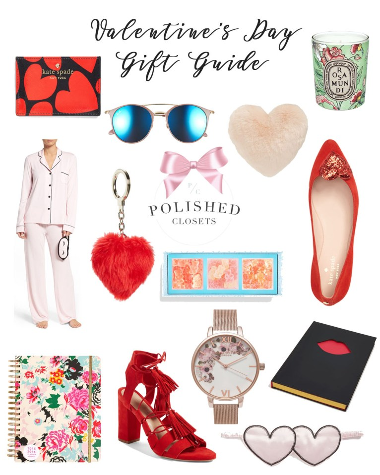 Valentine's Day Gifts for her // www.polishedclosets.com