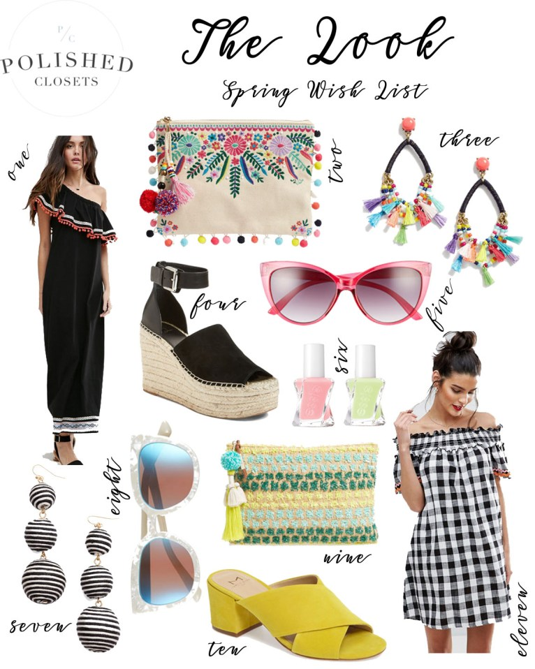 spring style trends // www.polishedclosets.com