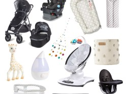 baby registry essentials // www.polishedclosets.com