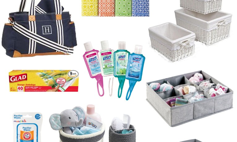 What's in Your Baby Organizer? 5 Baby Organization Must-Haves