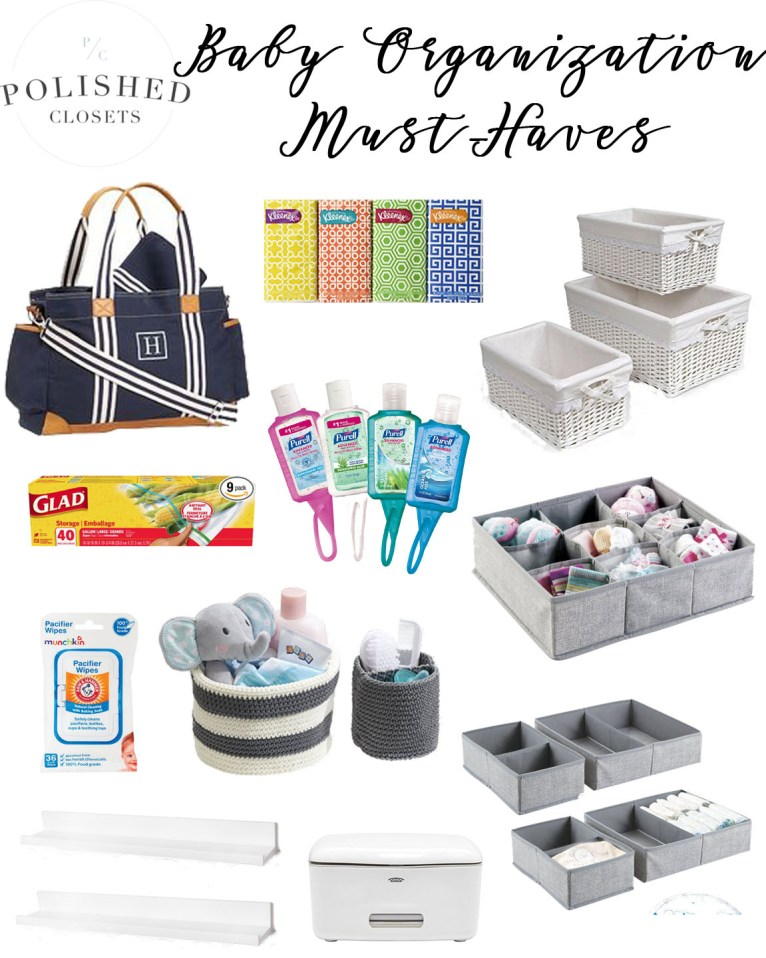 What's in Your Baby Organizer? 5 Baby Organization Must-Haves by lifestyle blogger Maggie from Polished Closets