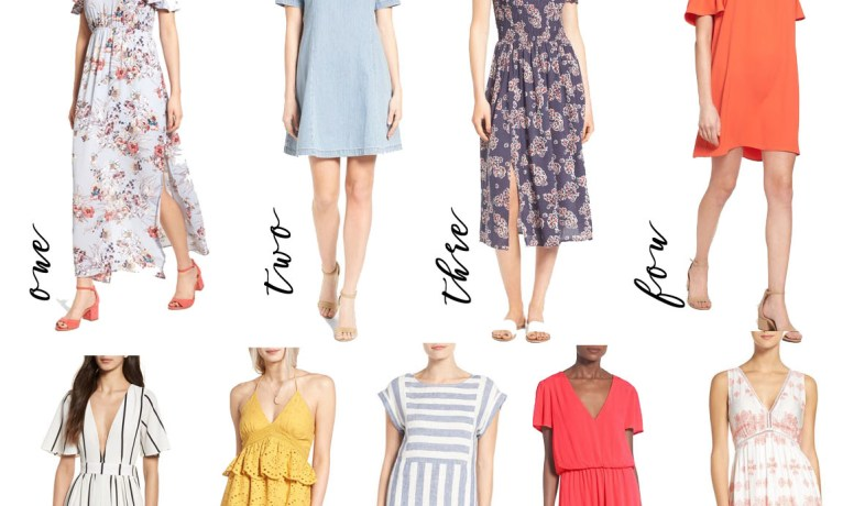 9 Spring Dresses for 2017 Under $100
