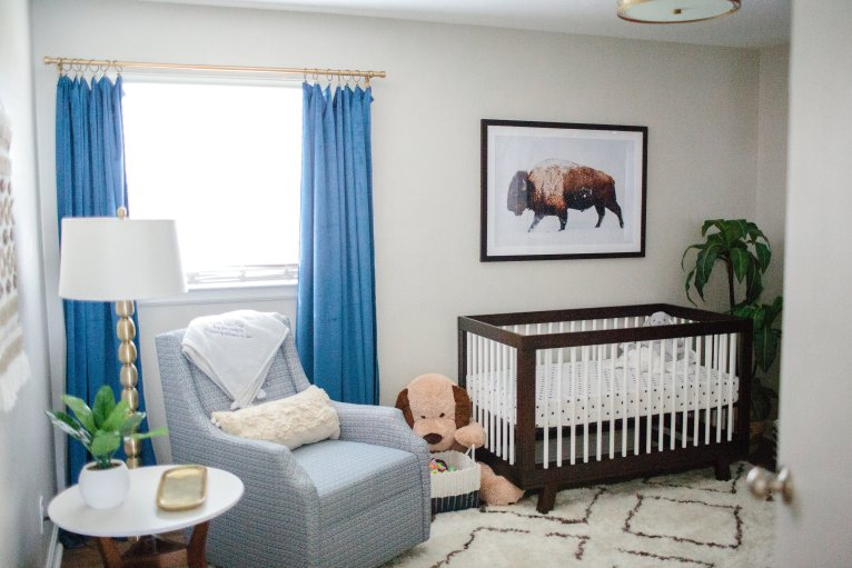 Baby Boy Nursery Ideas You'll Want to Steal by lifestyle blogger Maggie of Polished Closets